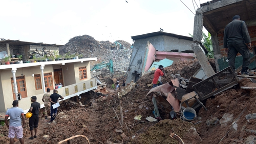 Police said a total of 145 homes, mostly shacks, were destroyed