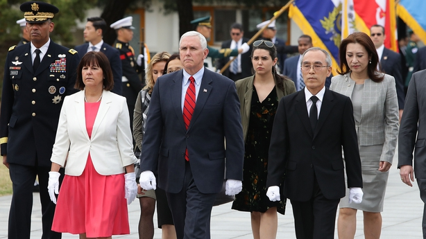 Mike Pence and his wife Karen