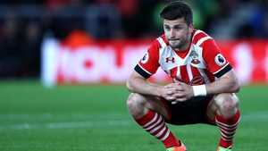 Shane Long was a frustrated figure on Saturday evening