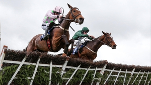 Augusta Kate ridden by David Mullins comes from behind to beat Ruby Walsh on Let's Dance