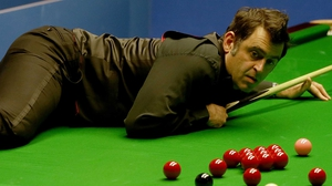 Ronnie O'Sullivan hit top form in the first session of his second round match against rival Shaun Murphy