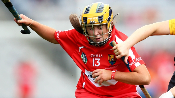 Rachel O'Shea was on form for Cork