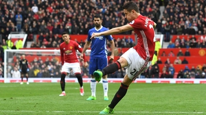 Ander Herrera strikes Manchester United's second goal