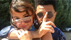 Selena Gomez and the Weeknd - image via Instagram