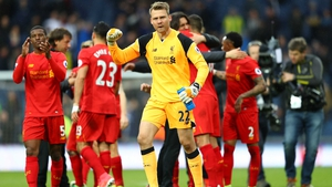 Simon Mignolet was left out of the Liverpool squad on Sunday