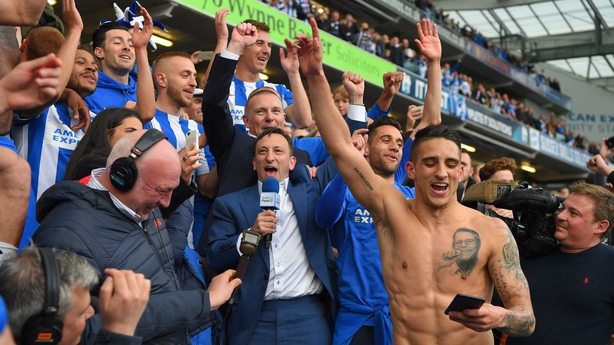 Chris Hughton sets sights on winning Championship title