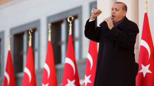 Recep Tayyip Erdogan narrowly won backing for the changes in a controversial referendum in April