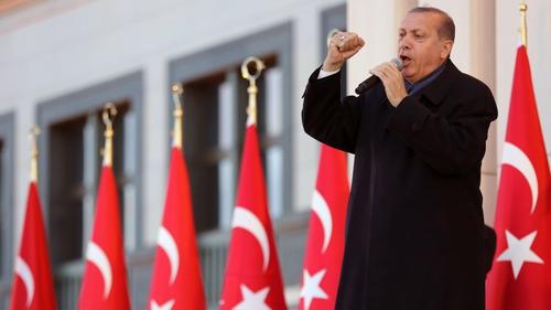 Still number one: Turkey's president Recep Tayyip Erdogan