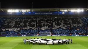 It's Leicester's first Champions League campaign