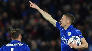 Jamie Vardy ankle injury isn't as bad as first feared according to Craig Shakespeare