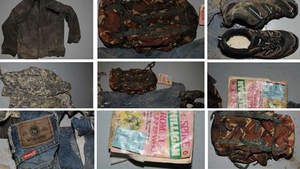 Photographs of the man's clothes and possessions were released last week
