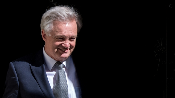David Davis is expected to face questions on the pace of Brexit negotiations