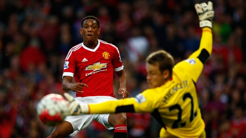 Anthony Martial has scored seven times this season
