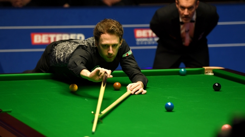 Judd Trump narrowly avoided a first round exit