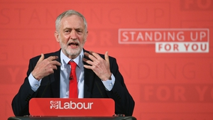 Labour leader Jeremy Corbyn was addressing an audience of activists in London