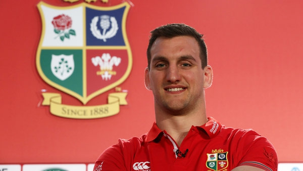 Sam Warburton will captain the Lions for the second successive tour