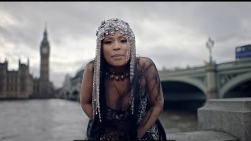 Rapper Minaj condemned for Westminster Bridge scenes in new music video