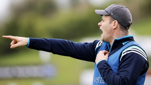 Dublin Under-21 manager Dessie Farrell on the sideline during their semi-final win over Donegal