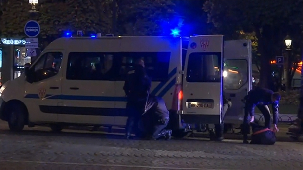 Officer Killed, Another Wounded at Champs-Elysées in Paris