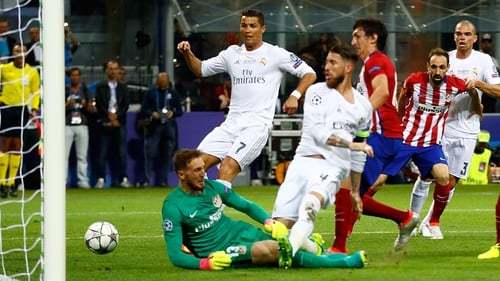The Madrid rivals have been drawn together in the last four of the Champions League