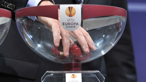 The Champions League and Europa League draws take place this morning