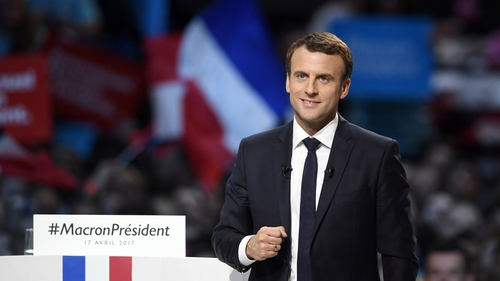 The euro had been on a rising trend in the days ahead of the election, as investors began to position for a Macron win
