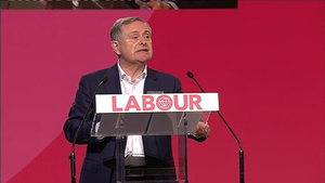 This was Brendan Howlin's first Labour Party conference as party leader