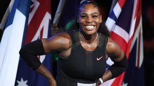 Serena Williams announced her pregnancy during the week