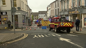 Gardaí are carrying out a technical examination of the scene of the fire