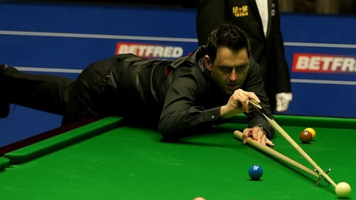 Ronnie O'Sullivan is through