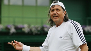 Ilie Nastase was thrown off court