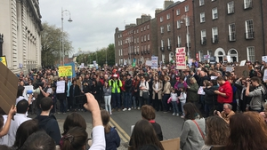 Over 1,000 scientists, engineers, mathematicians, environmentalists and supporters took part in the Dublin rally
