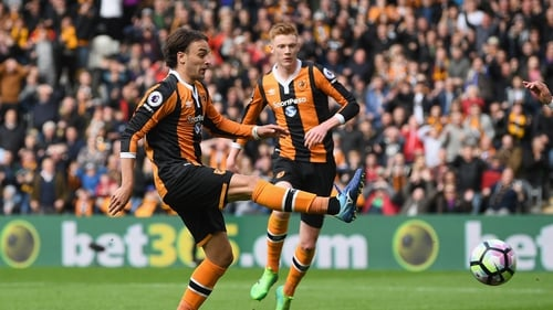 Lazar Markovic was on the mark for Hull