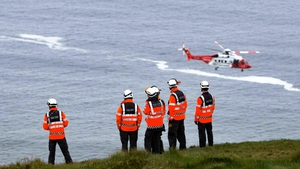 The Irish Coast Guard was alerted while an ambulance, rapid response advanced paramedic unit and gardaí responded to the scene