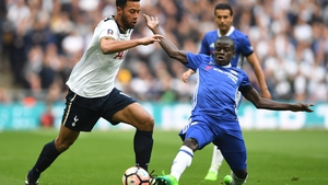 N'Golo Kante (R) has starred for Chelsea this season