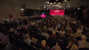 Brendan Howlin gave his first speech as leader of the Labour Party last night