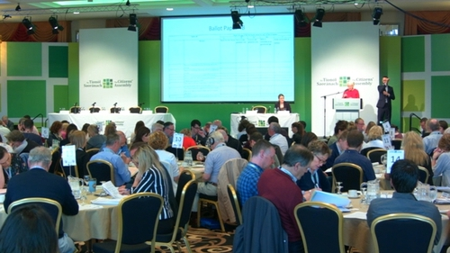 The Citizens' Assembly members attended ten days of seminars and meetings over the past five months