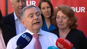 Brendan Howlin addressed the Labour Party conference last night