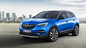 Opel's new compact SUV - the Grandland X - will be launched later this year.