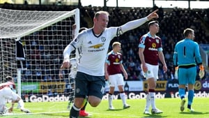 Wayne Rooney scored the second Manchester United goal