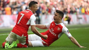 Alexis Sanchez put Arsenal into a third FA Cup final in four seasons