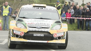 Sam Moffett en route to victory in Monaghan