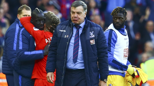 Sam Allardyce appears to have resigned from his role with Crystal Palace