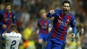 Lionel Messi finished as La Liga's top scorer with 37 goals last season
