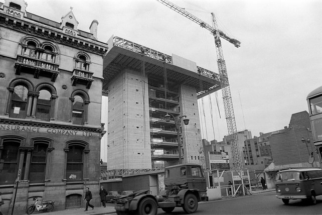 Central Bank Under Construction (1974)