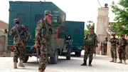 The resignations follow an attack on a major army base in the northern city of Mazar-i-Sharif
