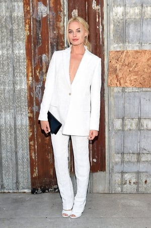 The actress attended the Givenchy New York Fashion Week in 2015 wearing a... Givenchy ensemble of course! She looks like a vision in this all-white outfit!