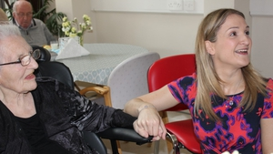 Minister Helen McEntee met residents when she opened the new unit
