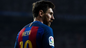 Lionel Messi was in superb form for Barcelona on Sunday night