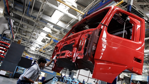 Volvo said demand for heavy-duty trucks is strong